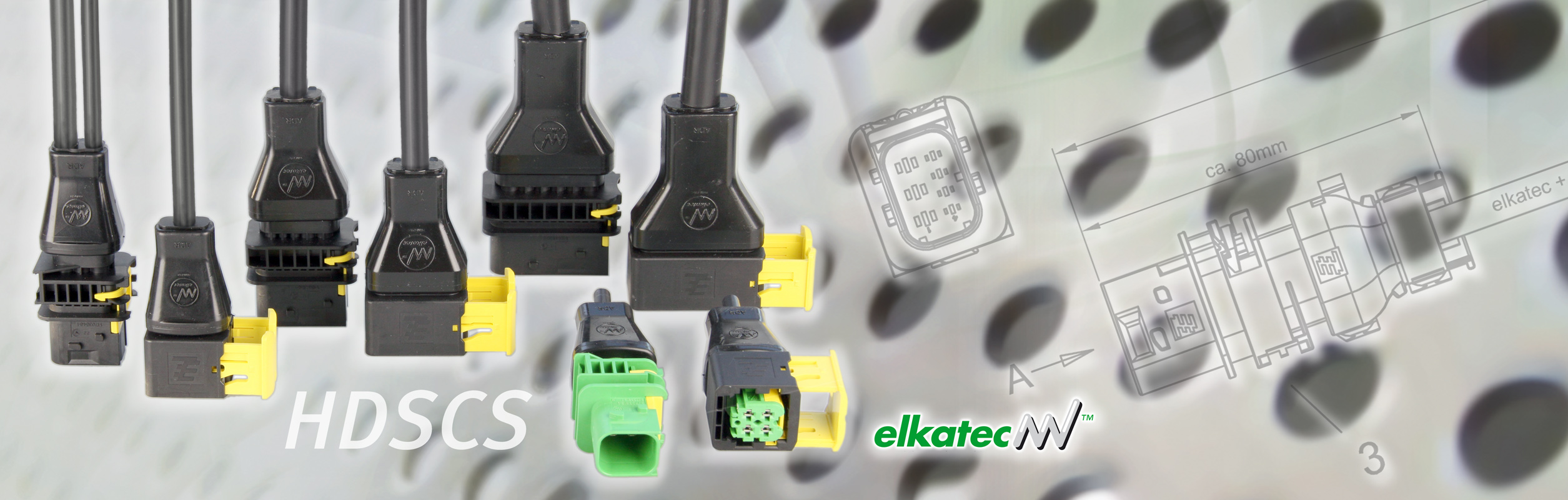 elkatec HDSCS sealed connector